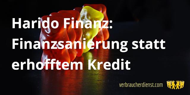 Titel: Harido Finanz: Finanzsanierung statt erhofftem Kredit