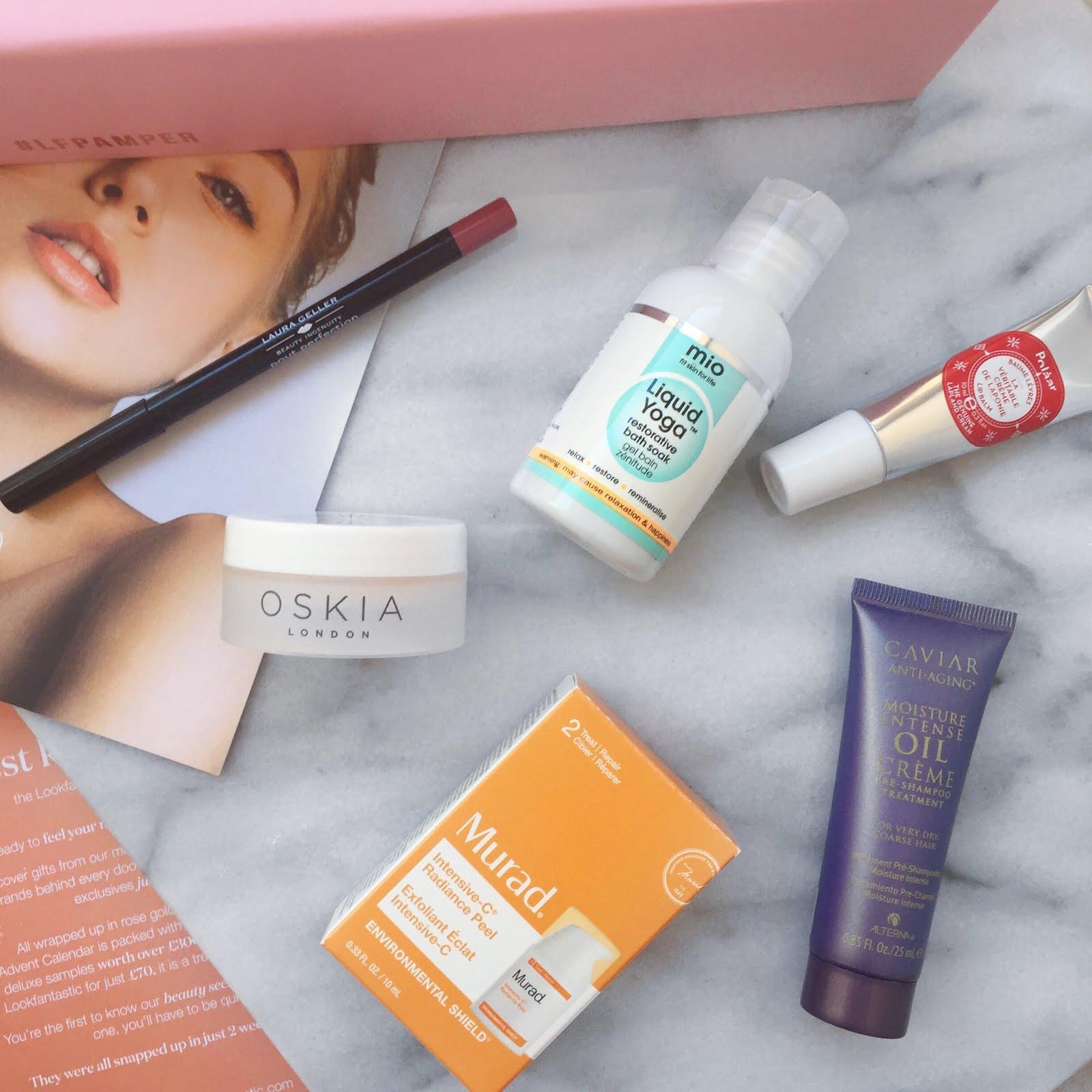#LFPAMPER, Look fantastic beauty box, laura geller cabernet, oskia renaissance mask