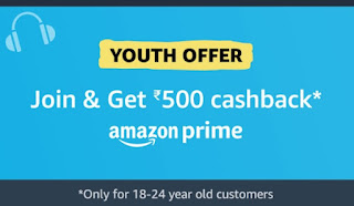 Amazon Prime Membership Youth Offer for Students