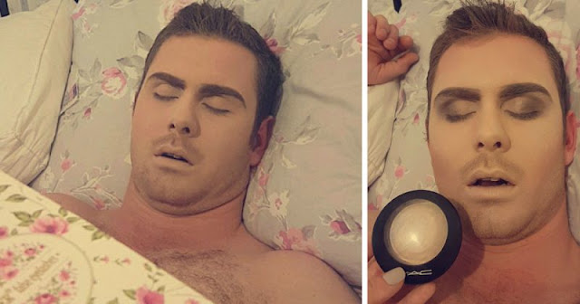 Guy Oversleeps And Fails To Keep His Promise To His Girlfriend, And Her Revenge Is Hilarious