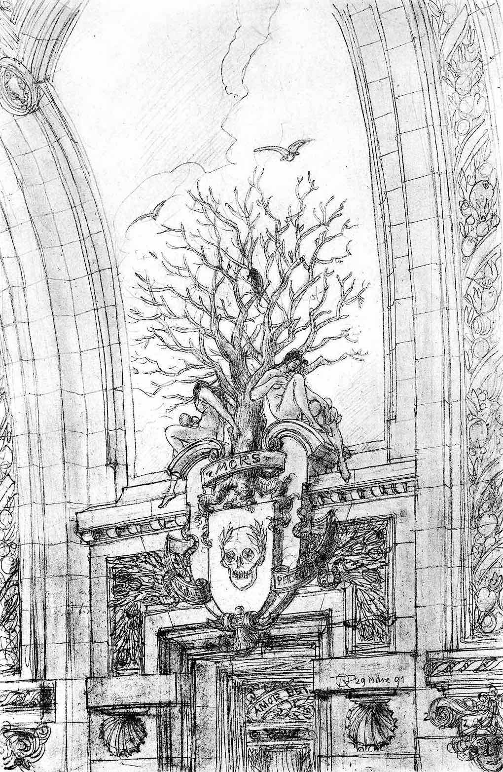 Otto Rieth 1896 fantasy architecture