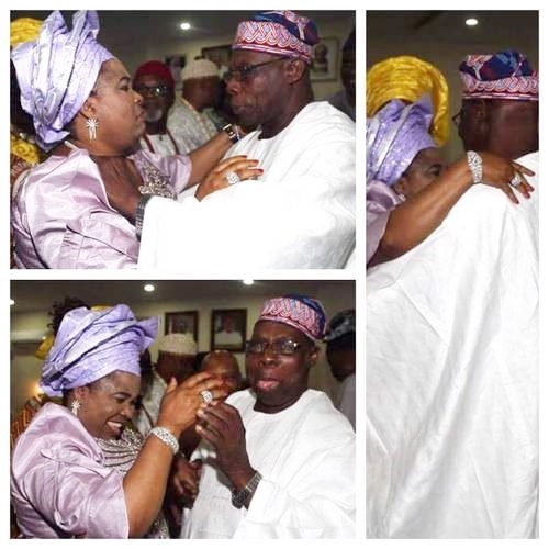 Why I Danced and Hold-Tight with Obasanjo - Patience Jonathan Reveals