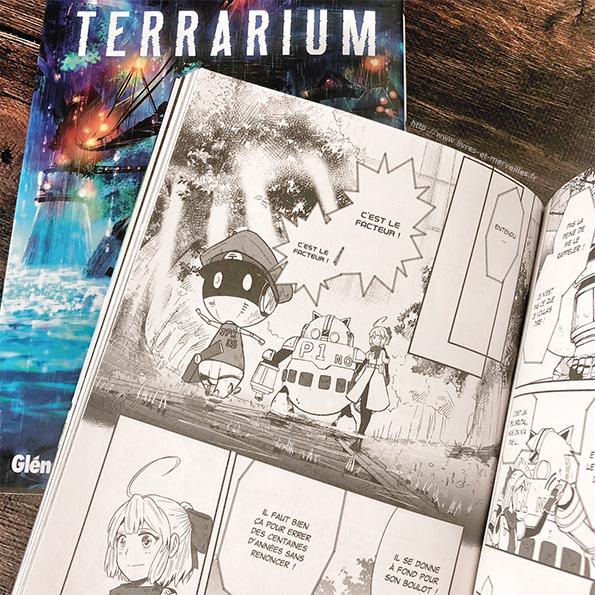 Manga Seinen : Terrarium tomes 1 et 2