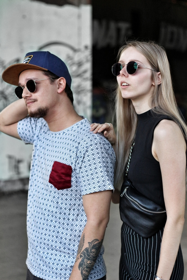 Outfit Matching sunglasses Polette dean zonnebril man vrouw mode blogger