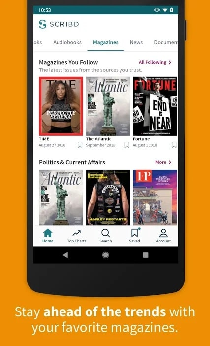 Apps for students Scribd