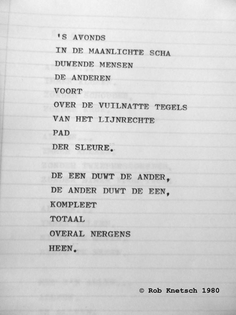 Of Turmoil And Quest Gedicht Der Sleure Door Rob Knetsch