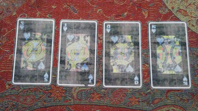 tarot court cards hearts cups