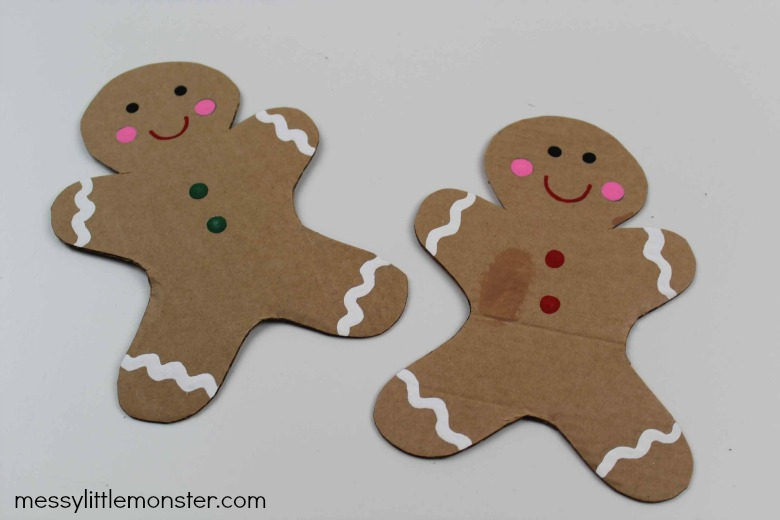 easy gingerbread man craft for kids