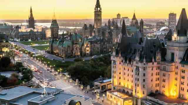 عاصمة كندا