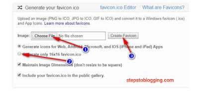 How To Add Favicon In Blogger