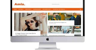 Amia Blogger theme Download
