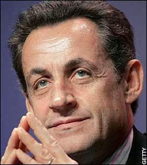 Presiden Prancis Nicholas Sarkozy