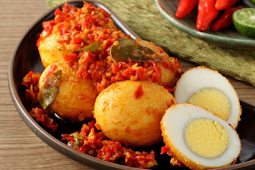 Resep Balado Telur Enak, Kreasi Telur Ayam Sederhana Namun Rasanya Bikin Nagih