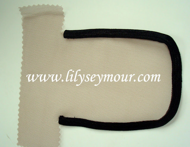 How to make a Lace Closure Template