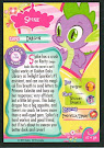 My Little Pony Spike Series 1 Trading Card
