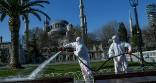 بعد ارتفاع اعداد الاصابات..الداخلية التركية تصدر تعميما جديدا