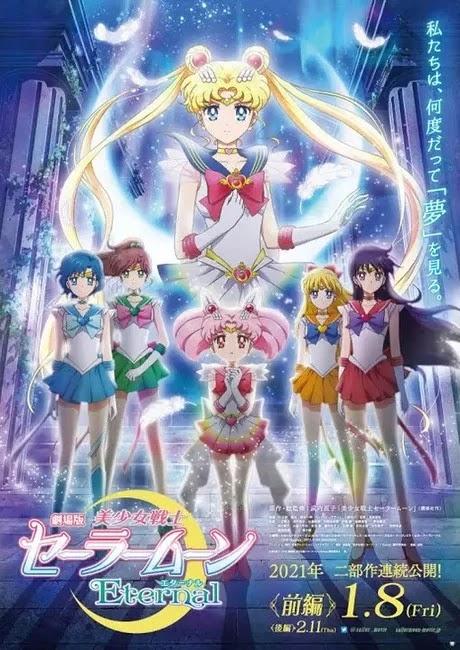 Sailor Moon Eternal muestra nuevo trailer, imagen y anuncia una nueva voz.
