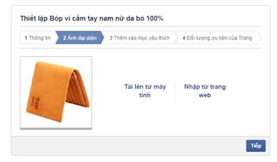 phương pháp SEO fanpage facebook hiệu quả với hình ảnh đại diện
