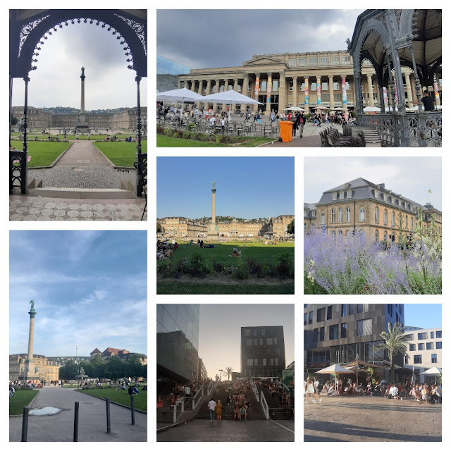 O que ver e fazer em Stuttgart? Schlossplatz