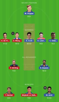 MID vs ESS dream 11 team | ESS vs MID