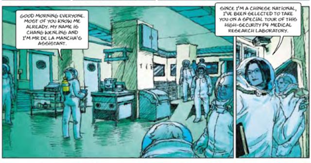 Το περίεργο κόμικ που χρηματοδοτήθηκε από την ΕΕ προέβλεπε πανδημία, με σωτήρες τους παγκοσμιοποιητές