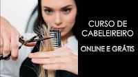 Curso de Cabeleireiro - online e grátis