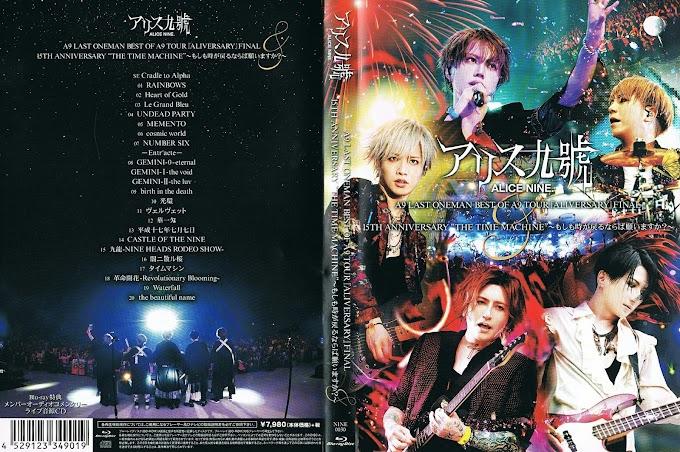 "[CD Audio - 15th Anniversary Live ""THE TIME MACHINE"" Blu-ray]"