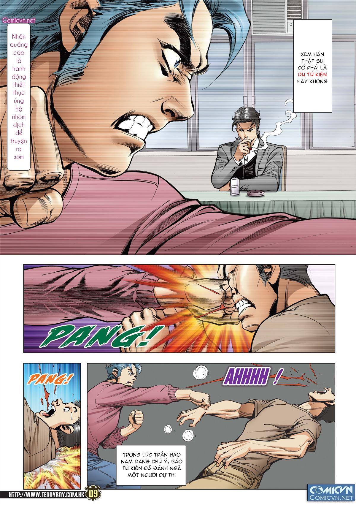 Người Trong Giang Hồ chapter 2119: nam ca vs thượng võ trang 8