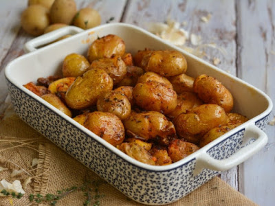 Συνταγή της Ημέρας: Baby πατάτες φούρνου