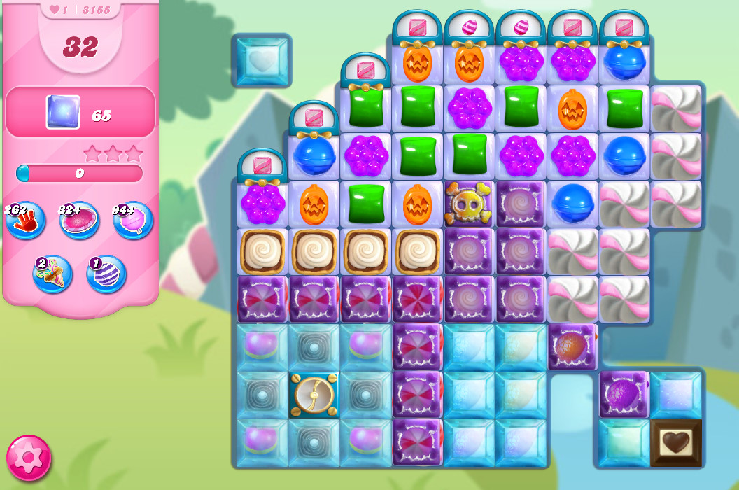 Candy Crush Saga level 8155