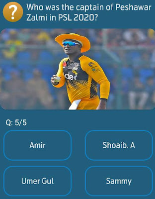 Who was the captain of Peshawar Zalmi in PSL 2020?