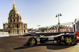 Roborace Car completes first public tests in Paris - Car new mag