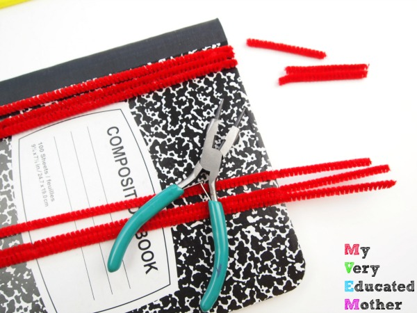 DIY your own fuzzy notebook