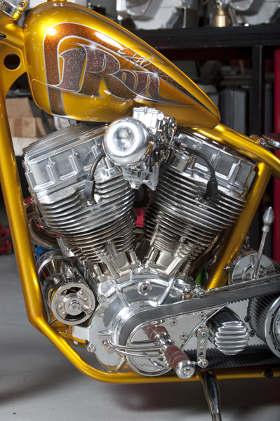 Harley Davidson Panhead By Iron Pit Hell Kustom