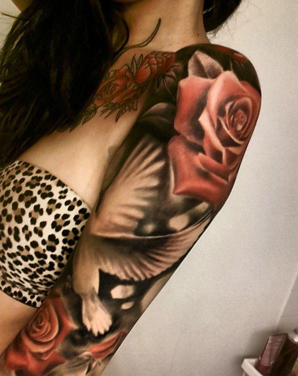 tatuajes para mujeres manga