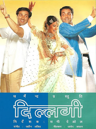 Poster Of Hindi Movie Dillagi 1999 Full HD Movie Free Download 720P Watch Online