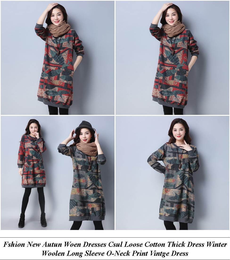 Lack Off The Shoulder Dress Formal - On Sale For Sale - Knee Length Dresses Lack