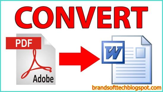 PDF to Word File Converter App