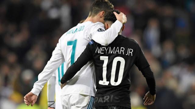 Neymar semble convaincu pour son futur au Real Madrid