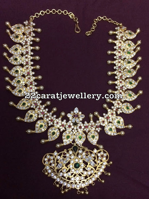 Silver Metal Grand CZ Necklaces