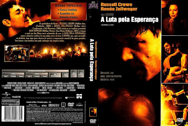 Capa DVD A Luta Pela Esperança