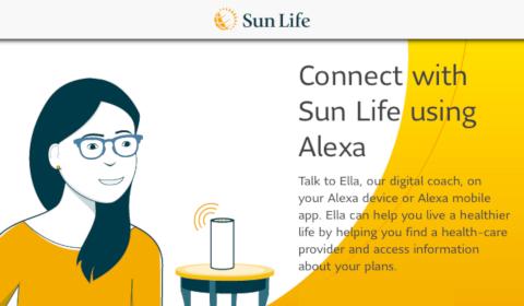 Sun Life sur Alexa