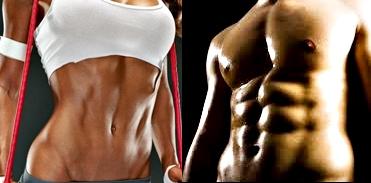 Abdominales ejercicios hombre mujer quemar grasa