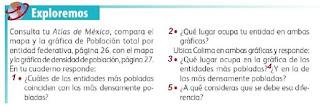 Respuestas Apoyo Primaria Geografía 4to. Grado Bloque III Lección 1 Más Mexicanos, ¿Aquí o allá?