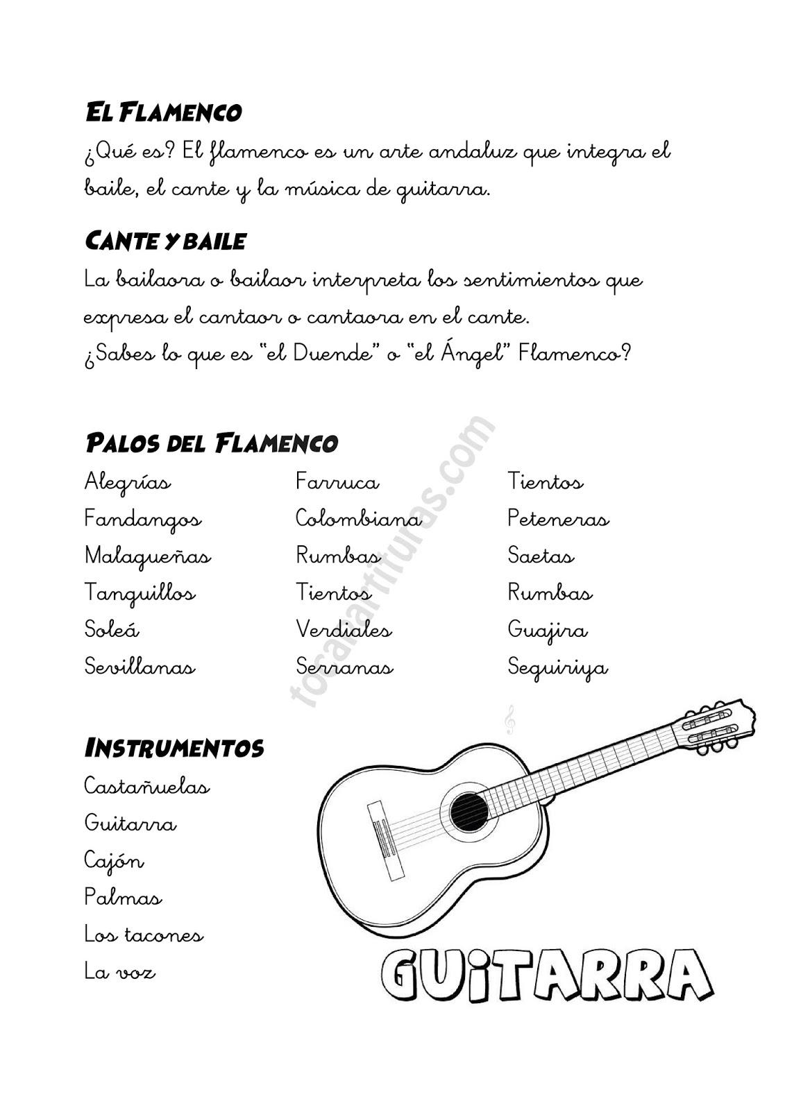 diegosax: El Flamenco en la Escuela. 16 de Noviembre Día del ...