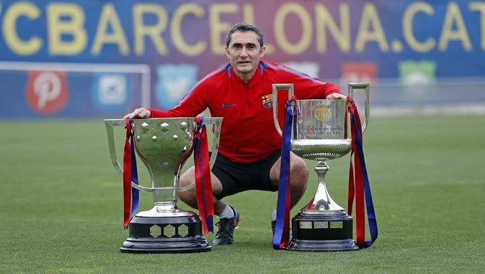 Valverde's harshest farewell: Sacked after three seasons at the top