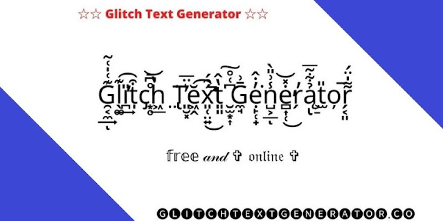Glitch text