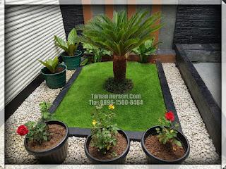 rumput sintetis dalam rumah