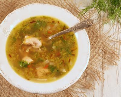 przepis na zupę z łososiem, zupa rybna prosta jak zrobić