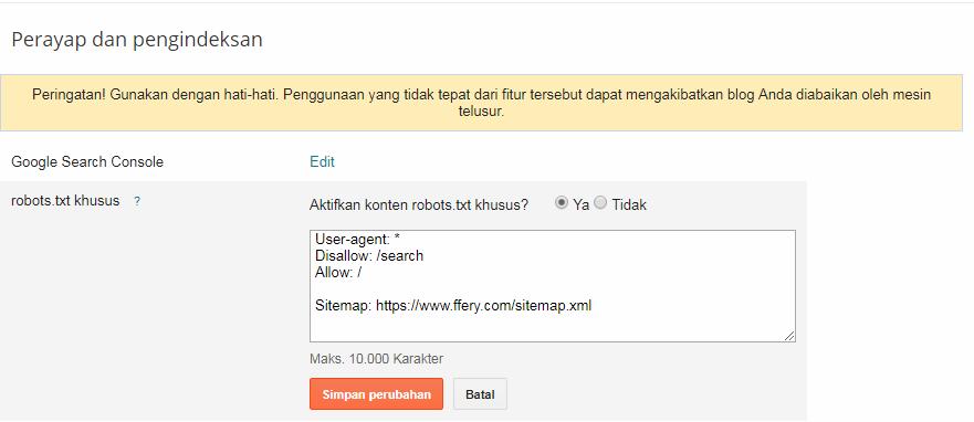 indexrobots